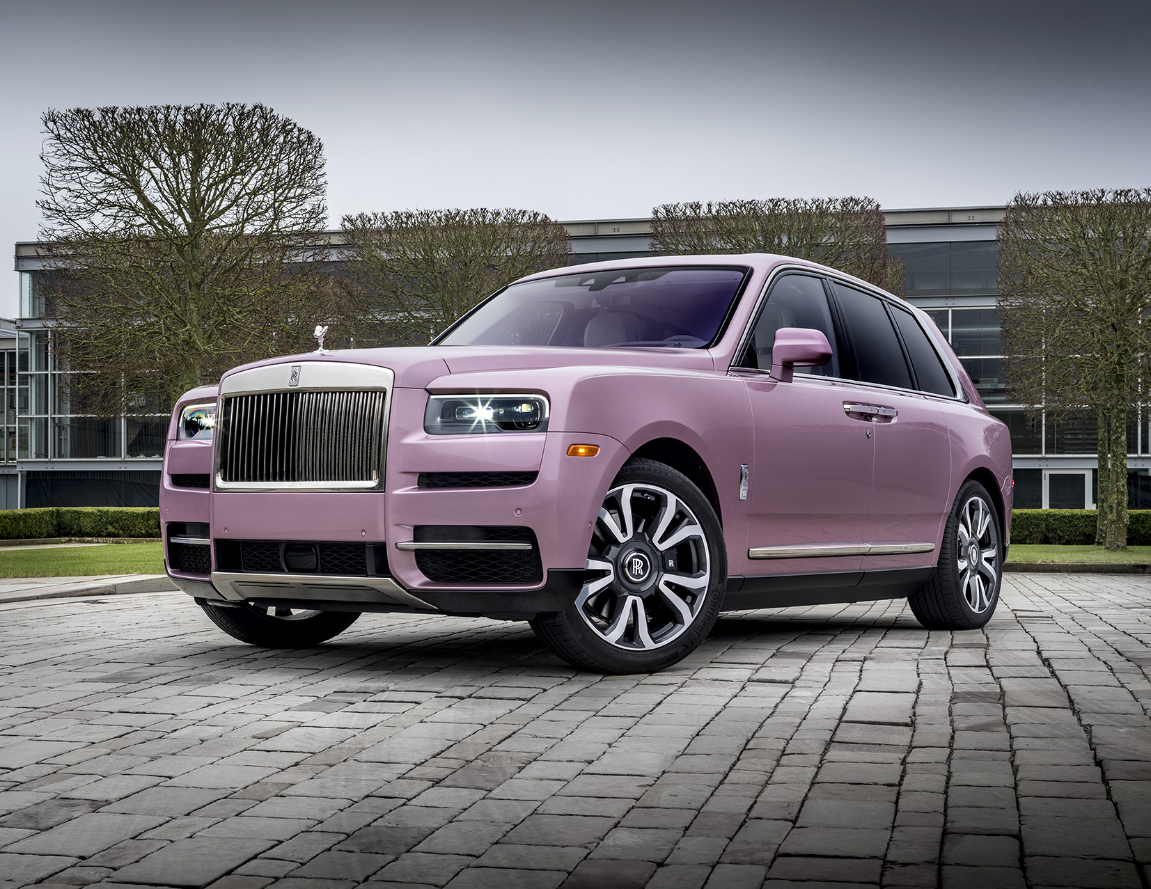 Passion Pink Cullinan Rolls Royce Beverly Hills O Gara Collective