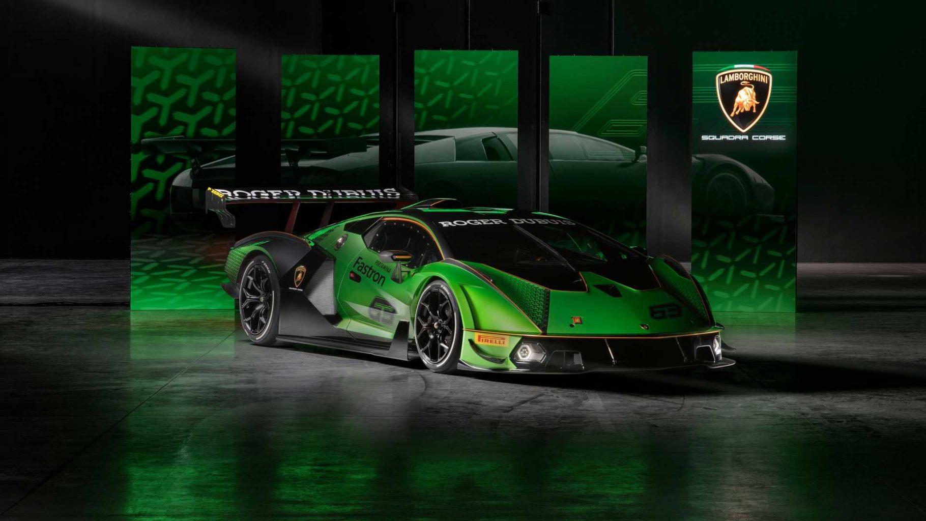 Lamborghini Essenza SCV12 Vehicle Debut