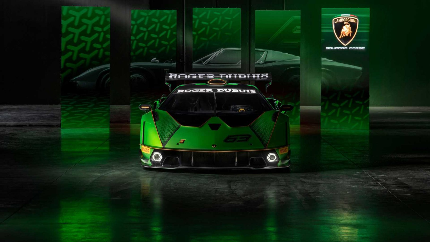 Lamborghini Essenza SCV12 front shot